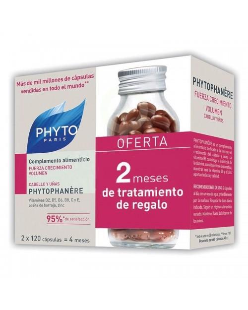 Phyto Duplo Phytophanere Cabello Y Uñas 2x120cápsulas